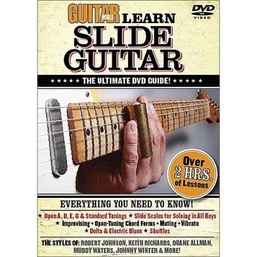 Learn Slide Guitar: The Ultimate Dvd Guide (DVD)