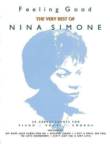 Nina Simone: Feeling Good - The Very Best Of - nuty na fortepian, melodia, akordy gitarowe, teksty