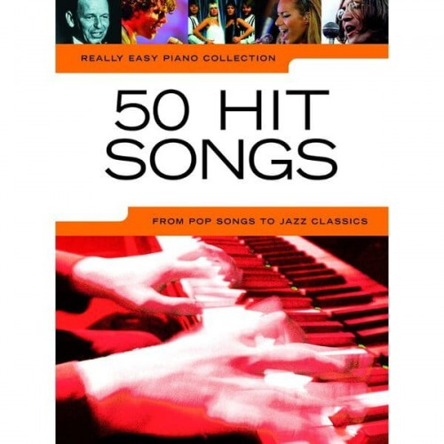 Really Easy Piano Collection: 50 Hit Songs - nuty na fortepian - księgarnia muzyczna Alenuty.pl