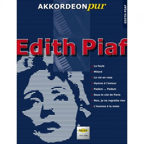 Akkordeon pur: Edith Piaf - nuty na akordeon