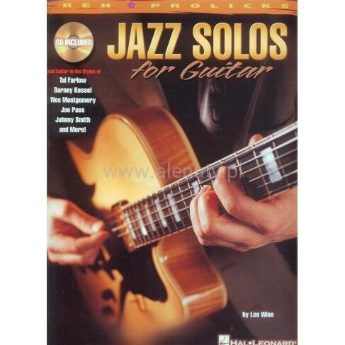 Jazz Solos for Guitar - Les Wise