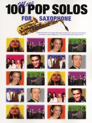100 More Pop Solos For Saxophone - nuty na saksofon