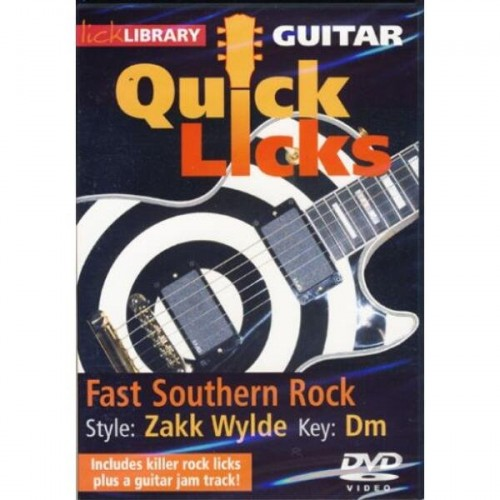 Lick Library - Quick Licks - Zakk Wylde Fast Southern Rock