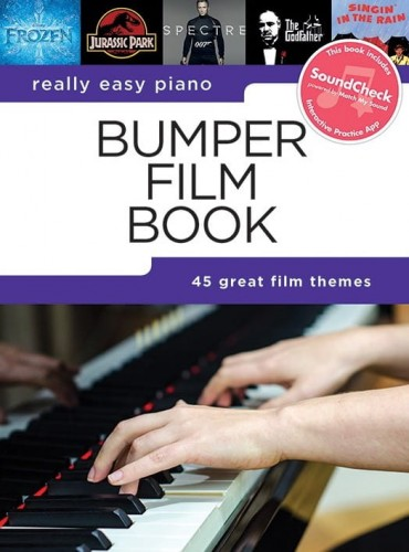 Really Easy Piano: Bumper Film Book - łatwe utwory na fortepian