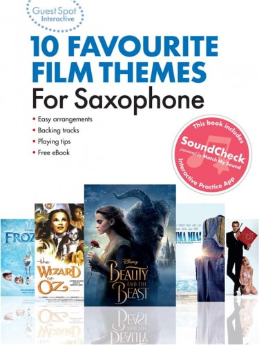 Guest Spot Interactive: 10 Favourite Film Themes For Saxophone (+ audio online) - łatwe nuty na saksofon