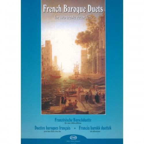 French Baroque Duets for two treble recorders - francuskie duety barokowe na 2 flety sopranowe