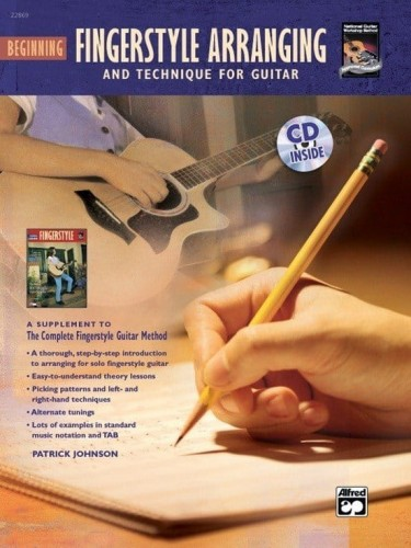 Complete Fingerstyle Guitar Method: Beginning Fingerstyle Arranging and Technique for Guitar - Johnson - podstawy aranżacji i techniki fingerstyle (+ płyta CD)