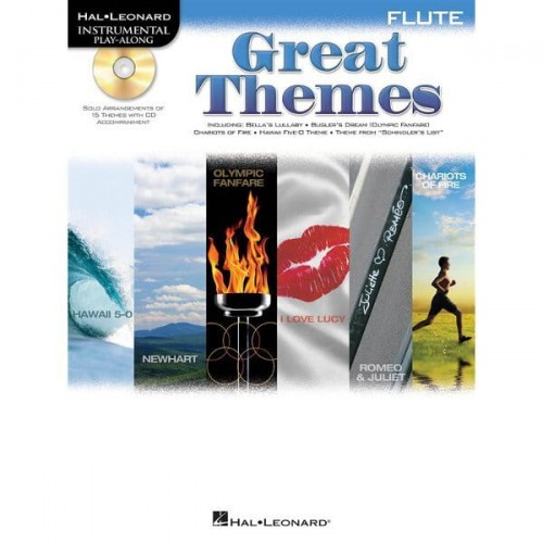 Great Themes Flute Muzyka Filmowa Na Flet Poprzeczny Płyta Cd