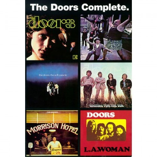 The Doors Complete: Music and Lyrics 1965-1971 - melodia, tekst, akordy gitarowe