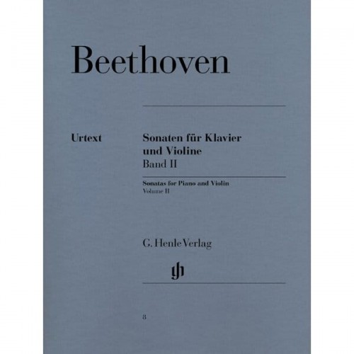 Beethoven - Sonatas for Piano and Violin 2 - sonaty skrzypcowe