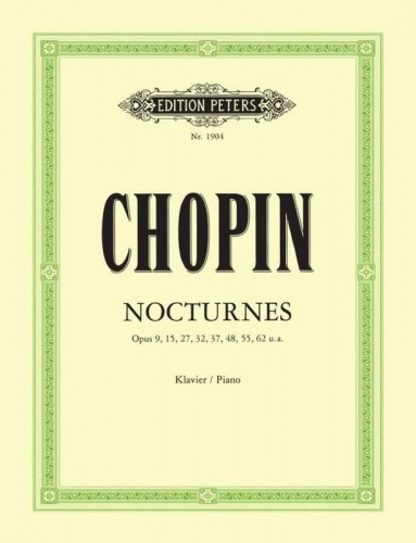 Chopin: Nocturnes - Nokturny - nuty na fortepian