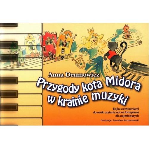 Przygody Kota Midora W Krainie Muzyki Nauka Czytania Nut Dla