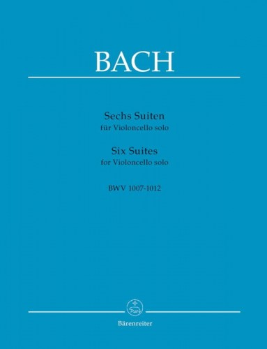 Bach J.S. - Six Suites for Violoncello solo BWV 1007-1012 - 6 suit na wiolonczelę