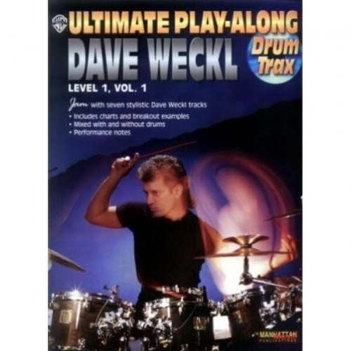 Ultimate Play-Along Dave Weckl - Level 1 Volume 1 (+ płyta CD) - nuty na perksuję
