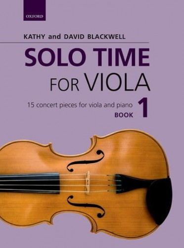 Solo Time for Viola Book 1 - Blackwell - utwory koncertowe na altówkę i fortepian