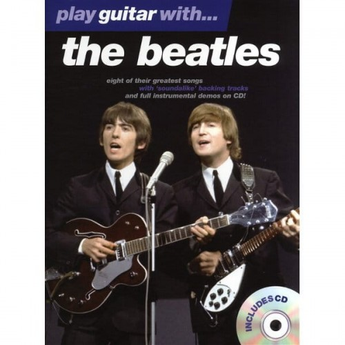 Play Guitar With The Beatles - nuty na gitarę (+ płyta CD)