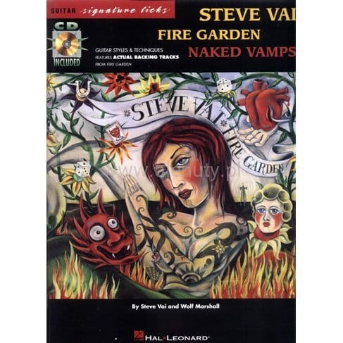 Steve Vai Fire Garden Naked Vamps