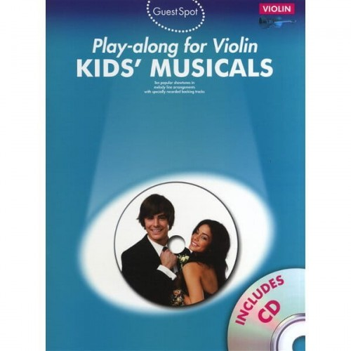 Guest Spot: Kids Musicals - Play-along For Violin - nuty na skrzypce (+ płyta CD)