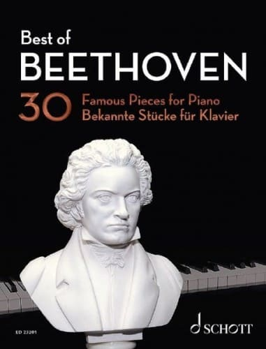 The best Beethoven nuty na fortepian